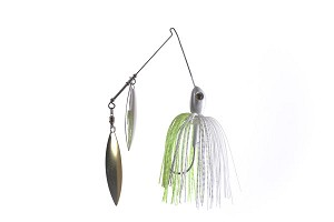 SPINNERBAIT Chartreuse/White